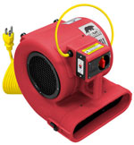 carpet cleaning air movers
