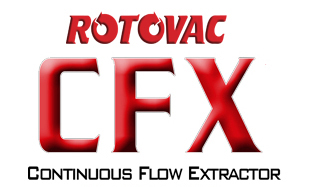 Rotovac CFX Continuous Flow Portable Extractor