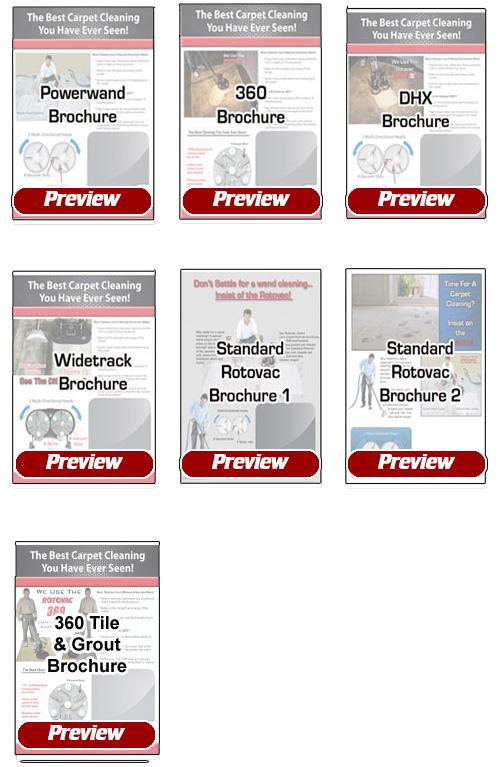 Rotovac Home Business Brochures