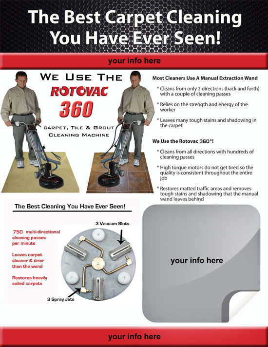 Rotovac Home Business Brochures