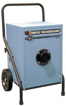 Dri-Eaz Dritec 150 dehumidifier carpet cleaning machines