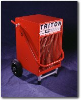 Ebac Triton dehumidifier carpet cleaning machines