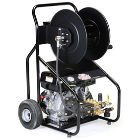 carted gas jetter