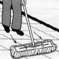 Mopping Procedures Illustration 2