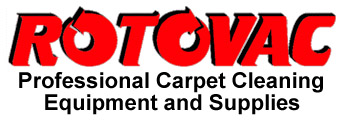 Rotovac Corporation cleaning carpet