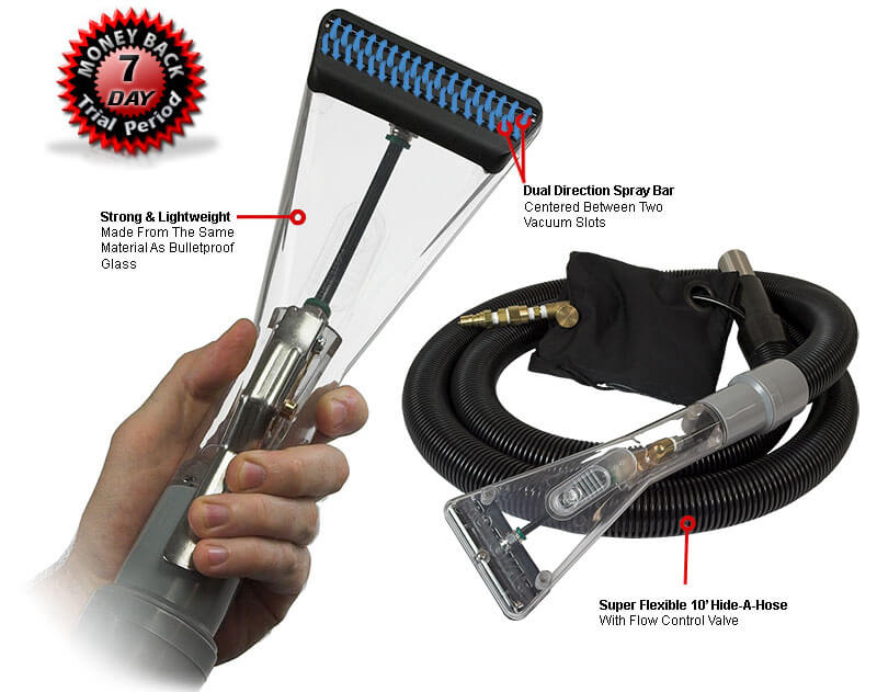 Rotovac Sheardry tool and hose. 7 day money back guarantee