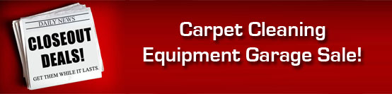 Discount Carpet and tile cleaning equipment