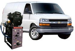 truck mount van packages