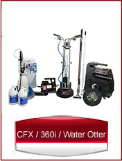 CFX, 360i and Water Otter startup package