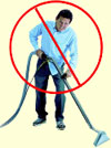 Don't break your back with traditional carpet cleaning gear